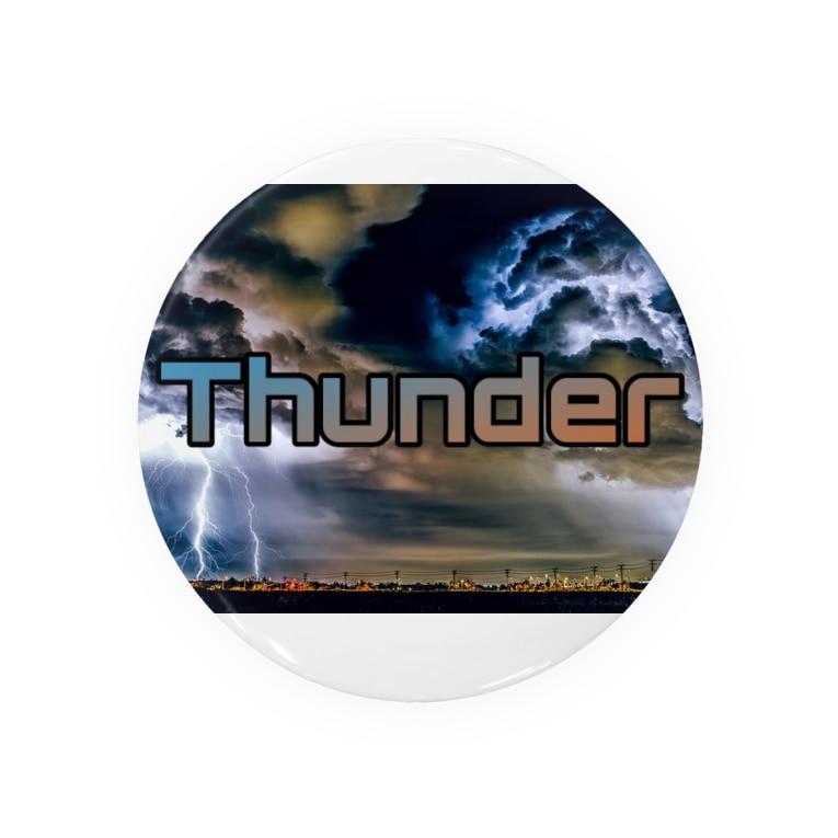 CABALAのCABALA Thunder Badges