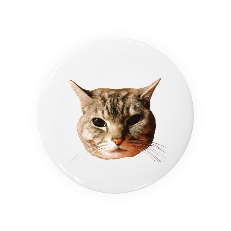 げんきもりもりのぽろにゃん猫のシュラ Badges