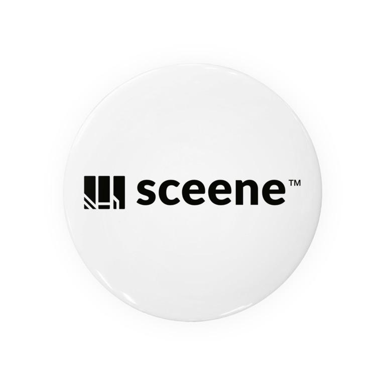 sceeneのsceene(シンボルロゴ) Badges