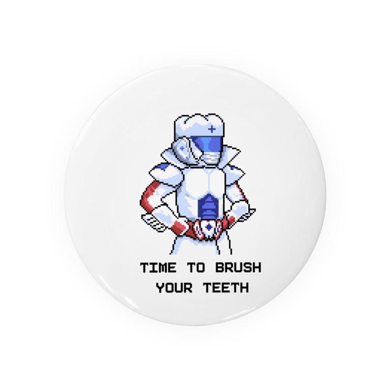 口腔戦士デンタマンの8bit Badges
