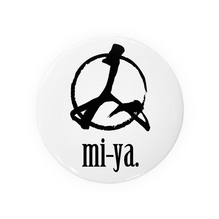 mi-ya.@完全体ニャースの[NEW]mi-ya.Logo Badges