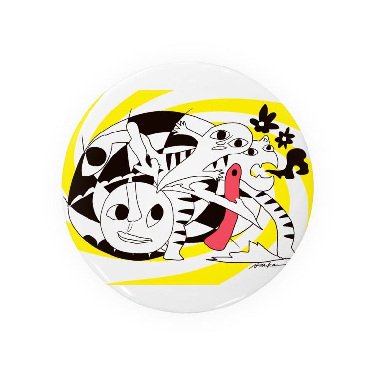 マツザキ茉佳のショップの白虎 Badges