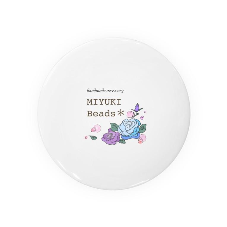 MIYUKI Beads*のMIYUKI Beads ロゴグッズ Badges
