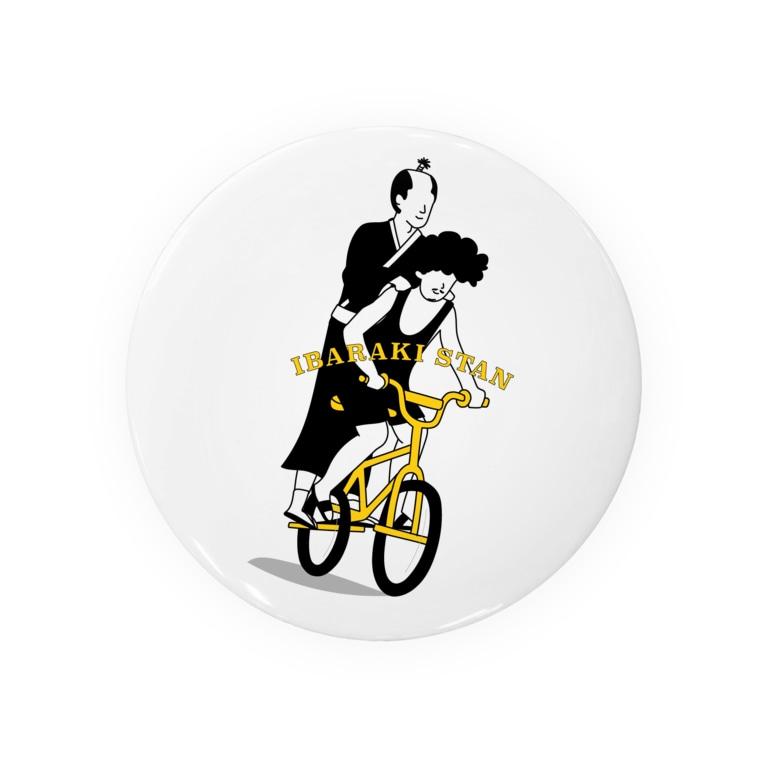 いばらきスタンのいばスタ#1 Tin Badge