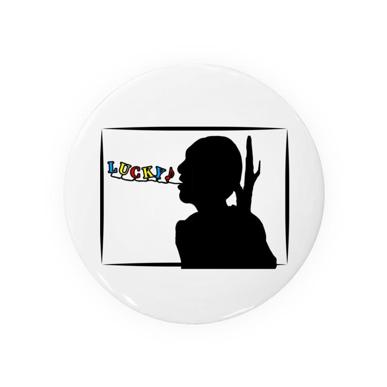 マイトガイのLUCKY (グラス、雑貨) Badge