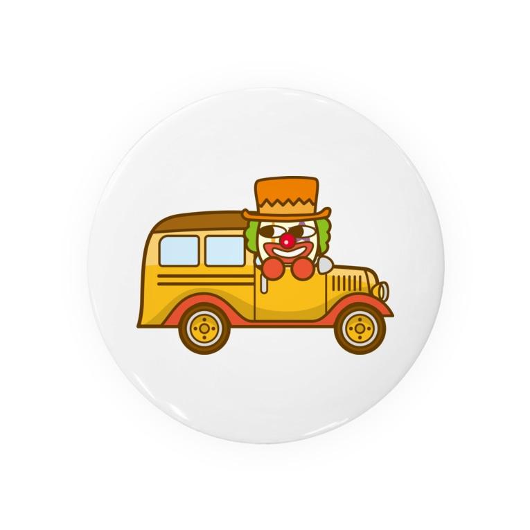 コメビツくんのタンゴくんのスクールバス Badges