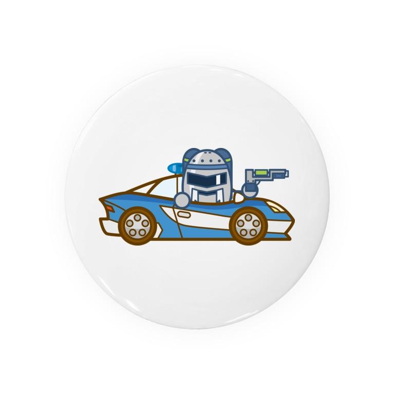 コメビツくんのジャンバラヤくんの高速パトカー Badges