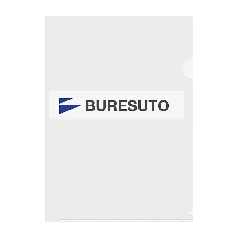 BURESUTOのBURESUTO Clear File Folder