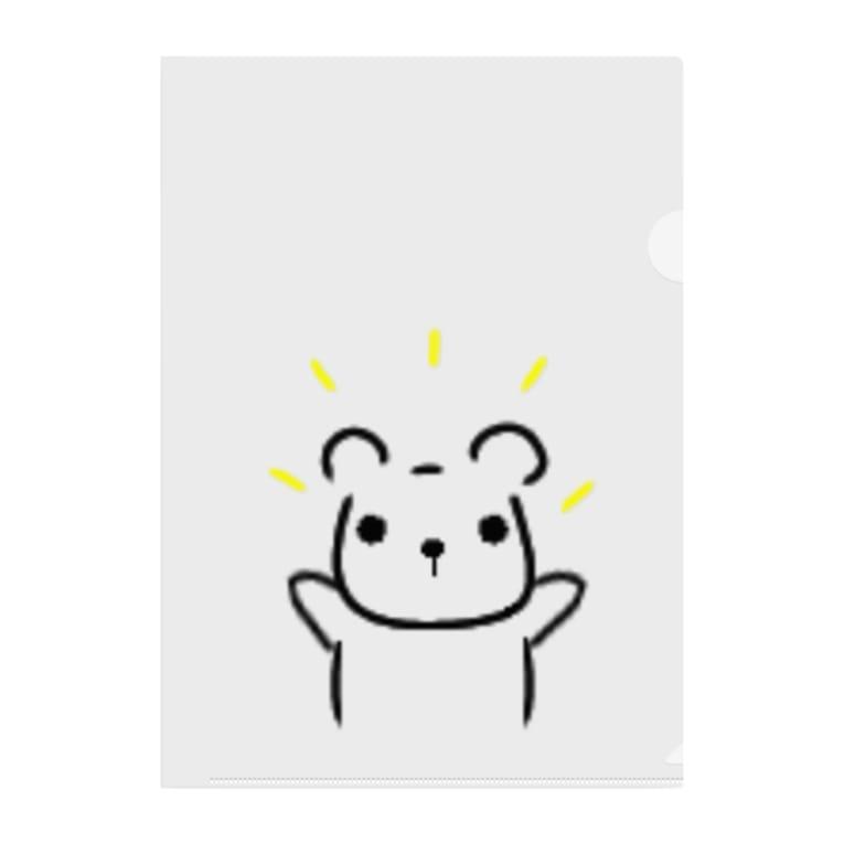 ramu-chanのくまちゃん Clear File Folder