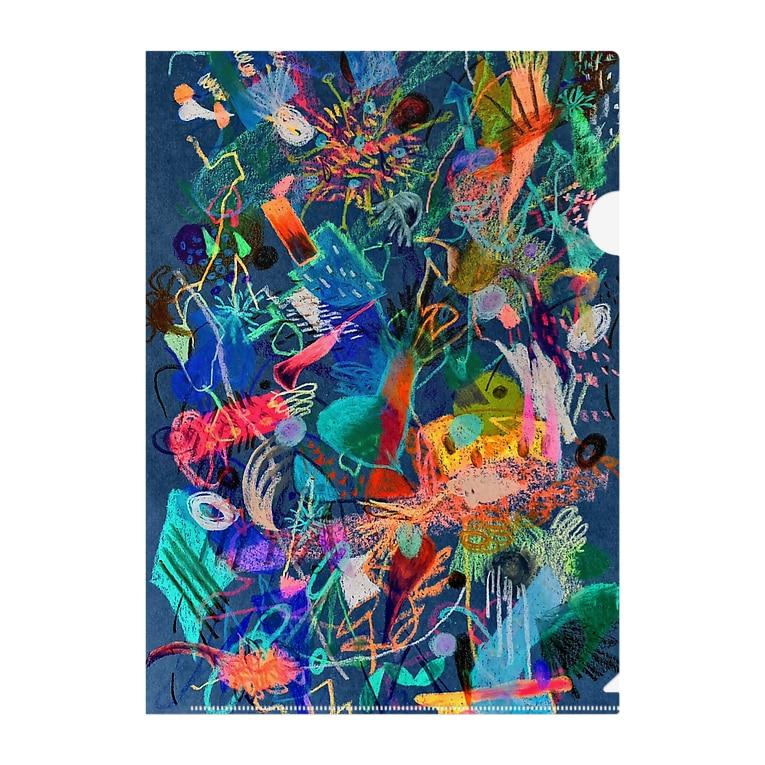 mikoの秘密から咲いたお魚たち2 Clear File Folder