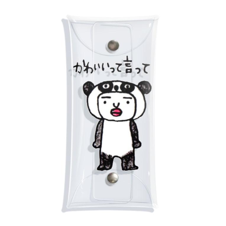 chiiim7のパンダのきぐるみで. . . Clear Multipurpose Case