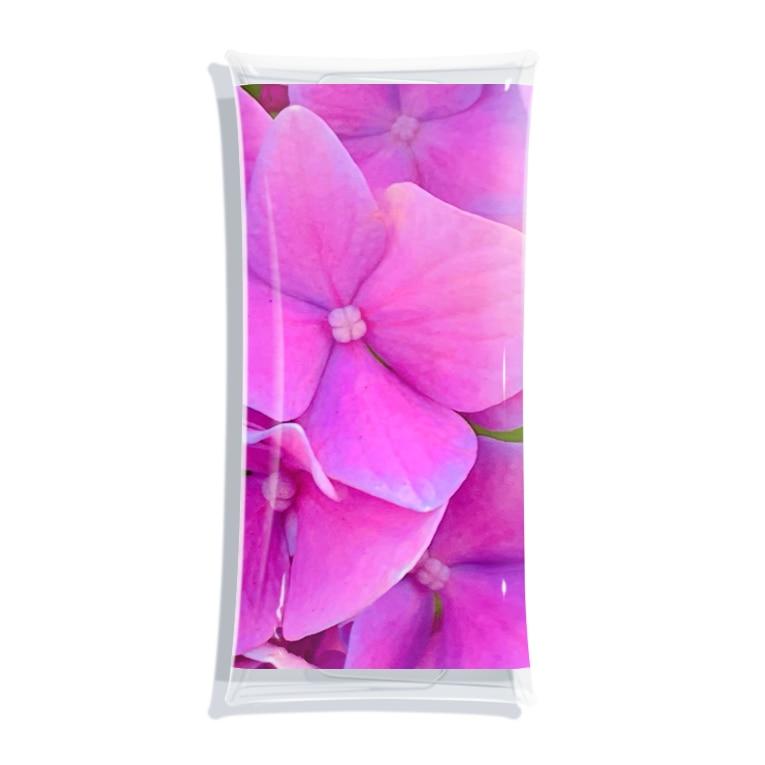 nyonyum☻の紫陽花。 Clear Multipurpose Case