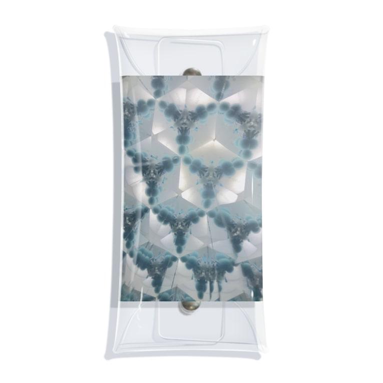 Parfume-weaverの万華鏡 Clear Multipurpose Case