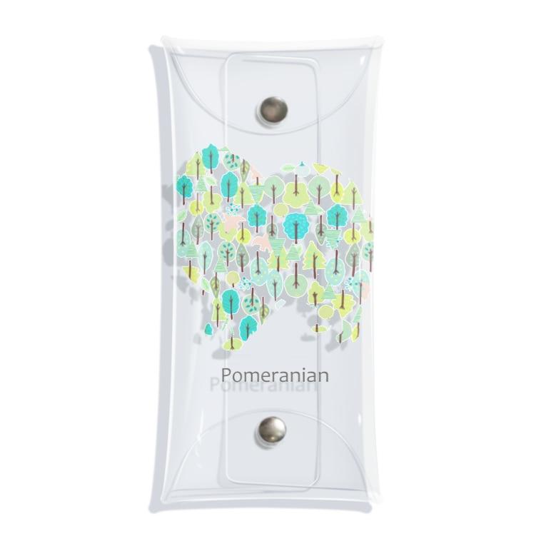 AtelierBoopの森 ポメラニアン Clear Multipurpose Case