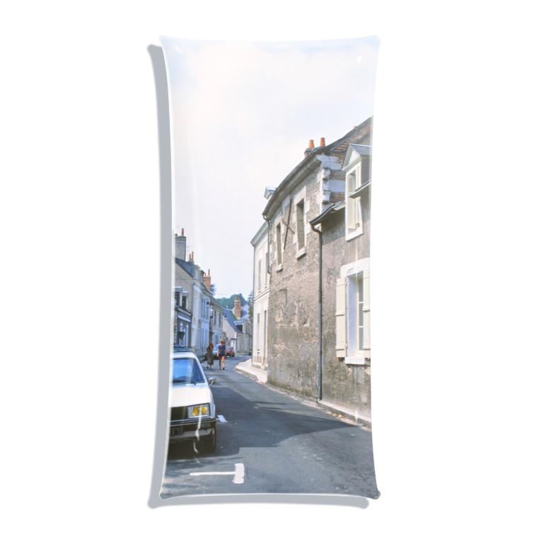 FUCHSGOLDのフランス:ブロワの風景 France: view of Blois Clear Multipurpose Case