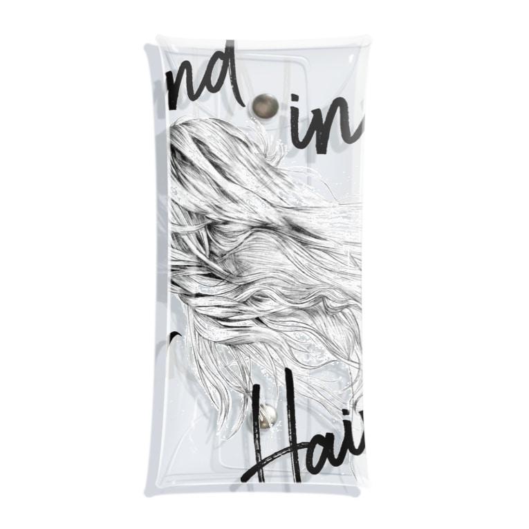 ゆたぽんのWIND IN HER HAIR Clear Multipurpose Case