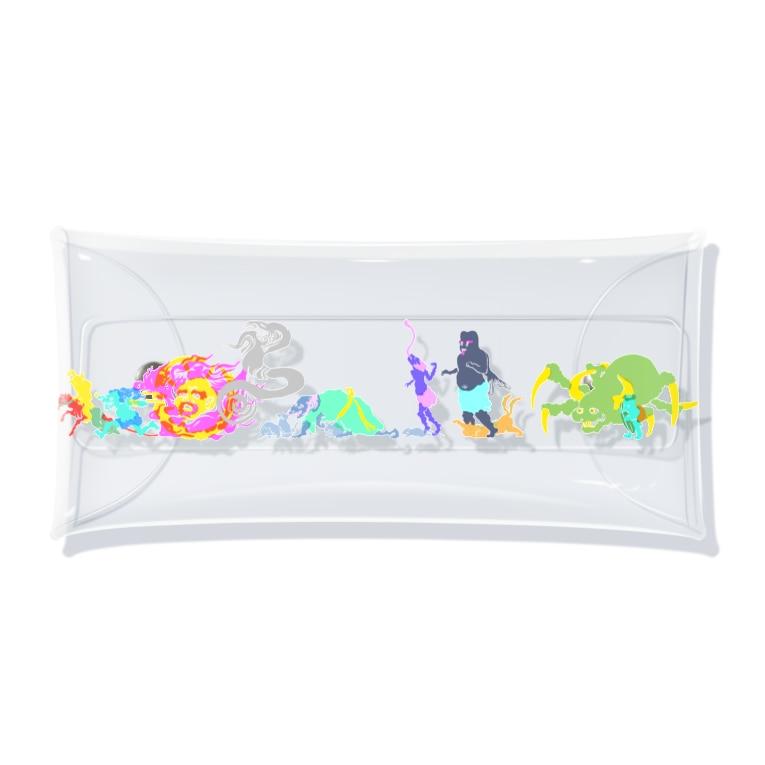 kyotsubeの百鬼夜行~其の肆~ Clear Multipurpose Case