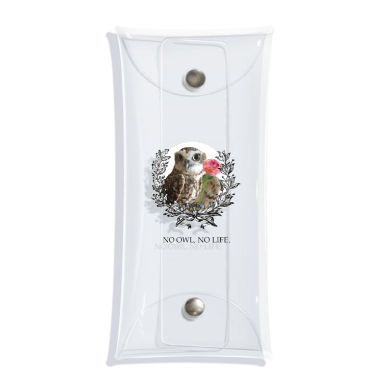 Pulmo(プルモ)のNO OWL, NO LIFE. Clear Multipurpose Case