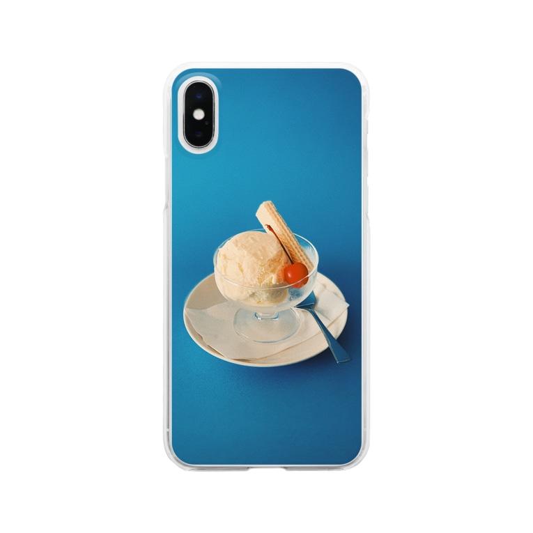 Kensuke Hosoyaのアイスクリーム Clear smartphone cases