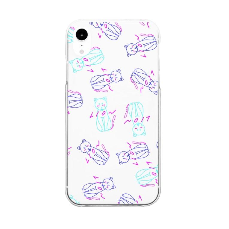 ユリカの2 LION Clear smartphone cases