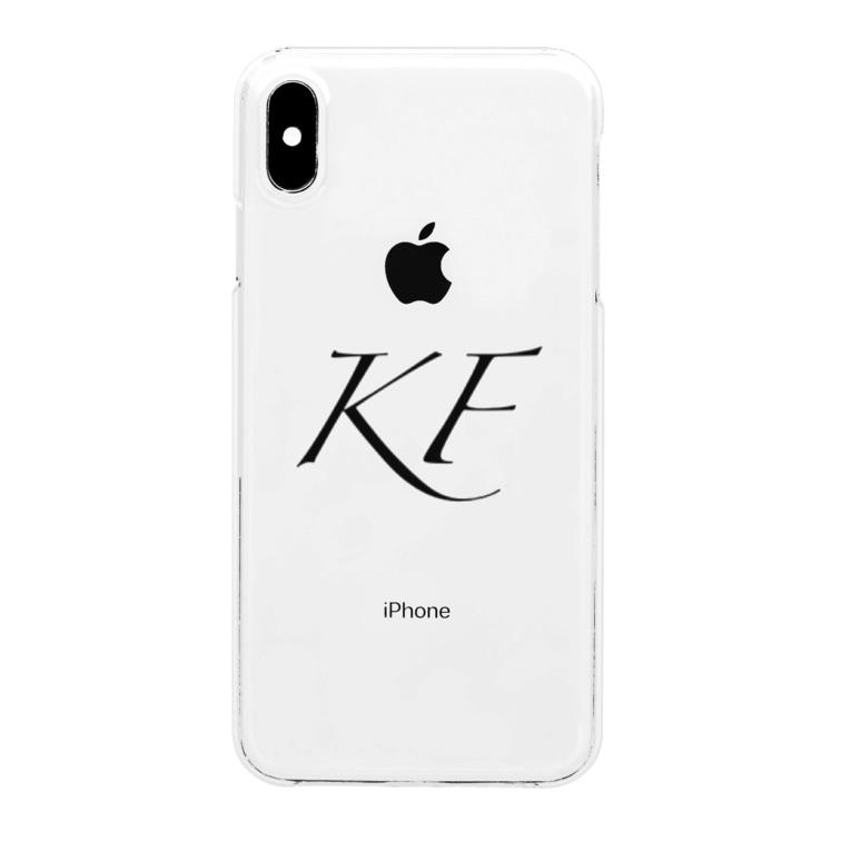 KOFE!SHOP(こふぇショップ)のKOFE!オリジナルiPhoneケース各種 Clear smartphone cases