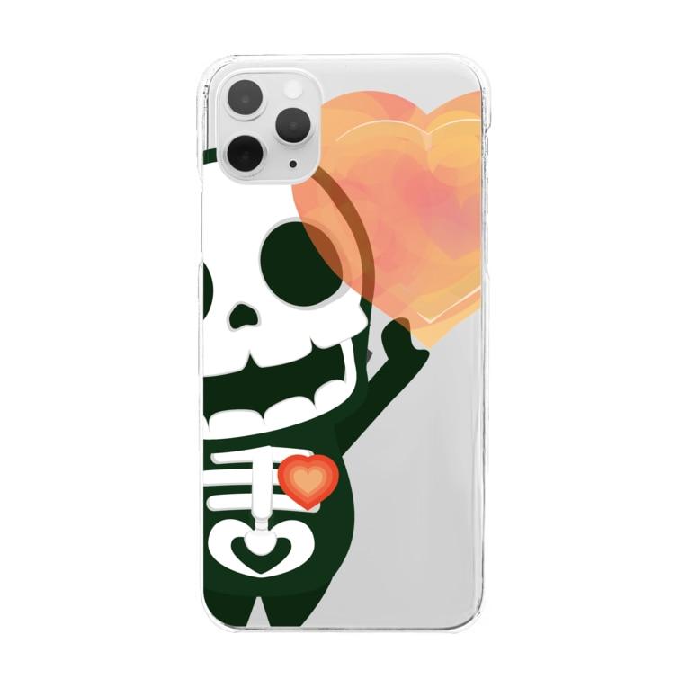 *suzuriDeMonyaa.tag*の愛してガイコッチャAC Clear smartphone cases