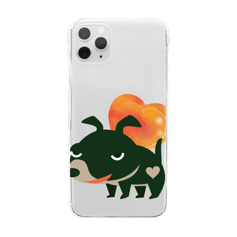 *suzuriDeMonyaa.tag*の愛してガイコッチャBC Clear smartphone cases