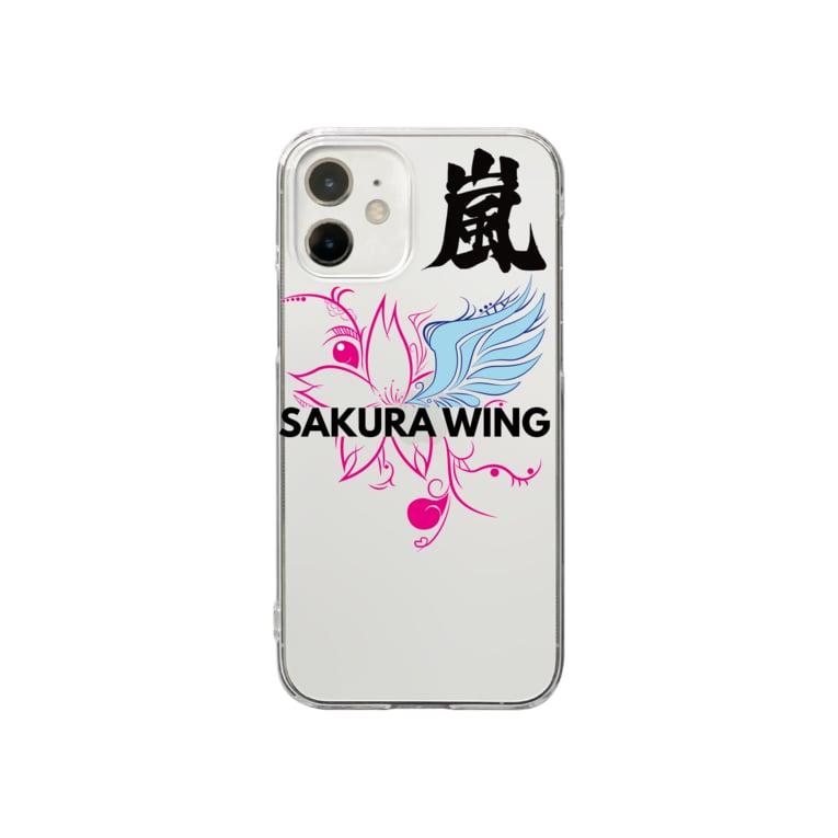 SAKURA WING LLC.の嵐専用ケース Clear smartphone cases