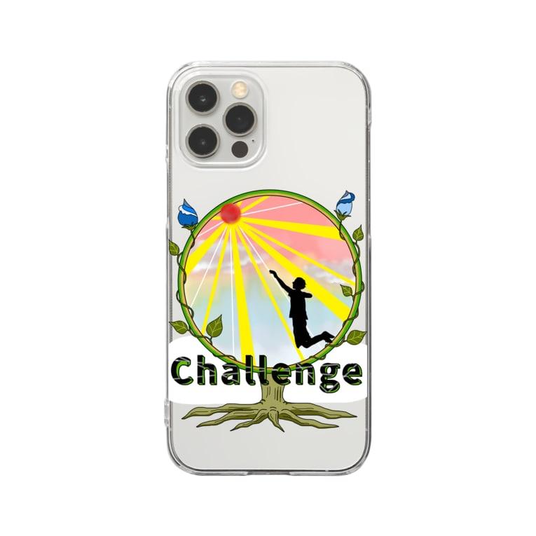 miritakaの時間のチャレンジ Clear smartphone cases