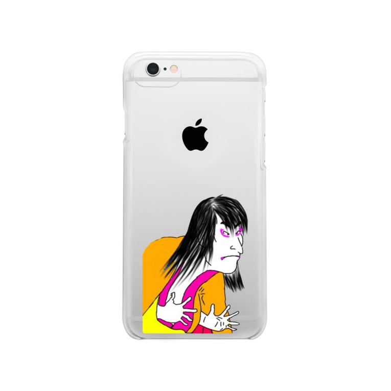 ʚ一ノ瀬 彩 公式 ストアɞの一ノ瀬彩【歌舞伎】(c)大剣使いさん Clear smartphone cases