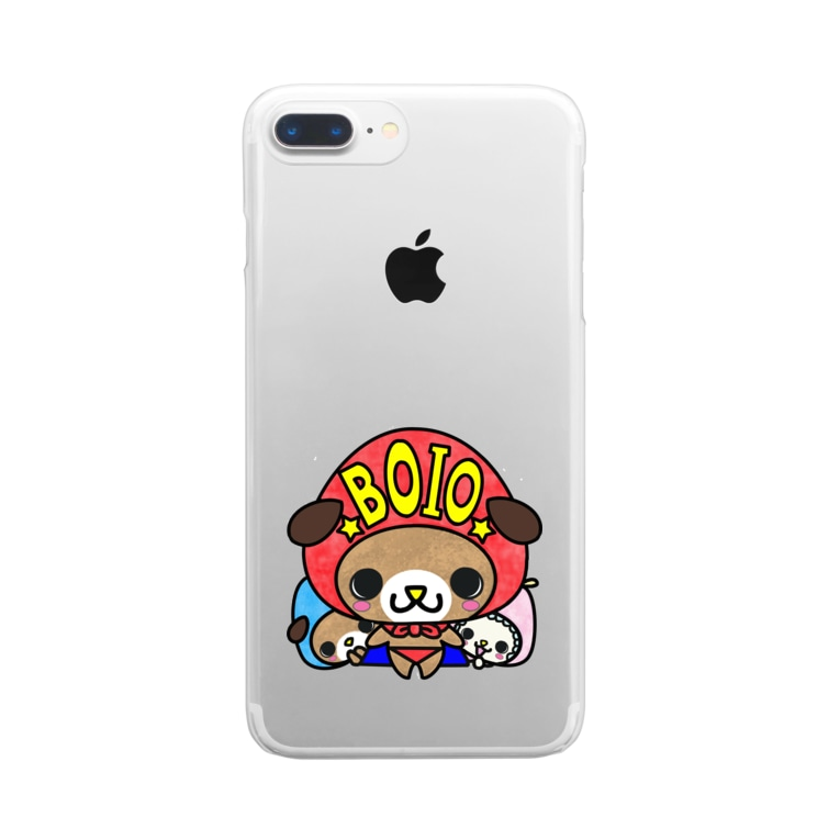yucca-ticcaのぼいお Clear smartphone cases