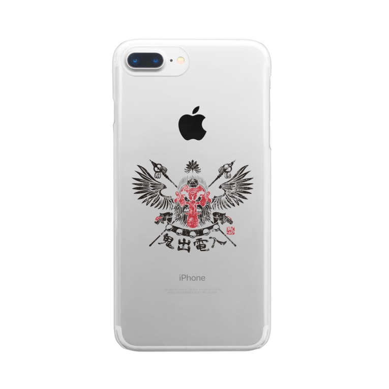 G-laboの大天狗 Clear smartphone cases