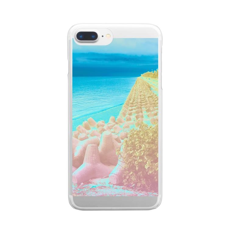 ウナーゴン20億3千万販売所の異界の海 Clear smartphone cases