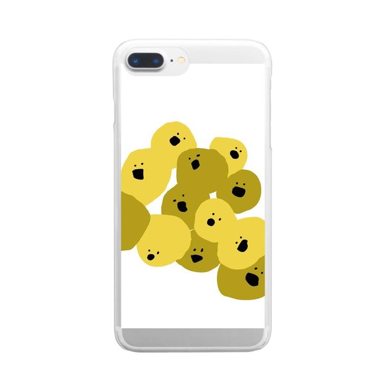 めんまのさいぼぼ Clear smartphone cases