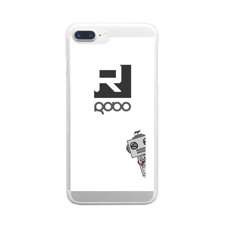 alma-gemeaのiphone  ロボケース Clear Smartphone Case