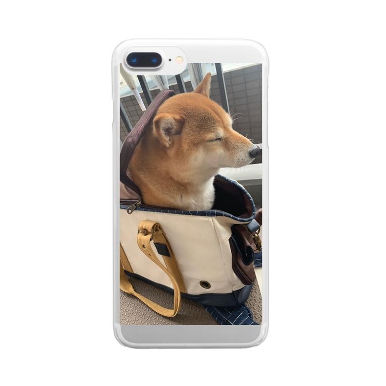 ふざけたキャラクター‼️048.style‼️の048style、ハナちゃん Clear Smartphone Case