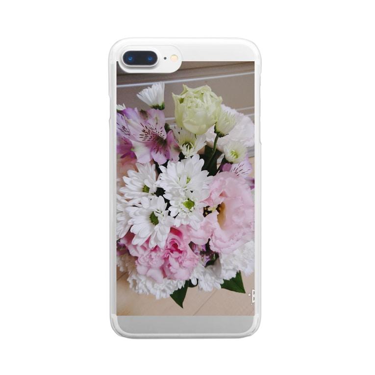 匿名くらぶの納車おめでとう Clear smartphone cases