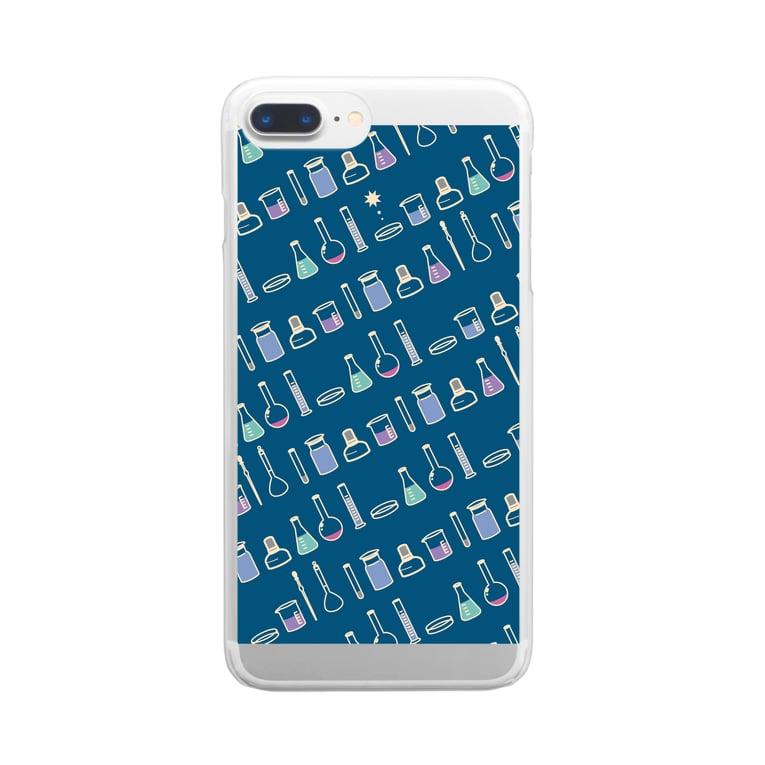ろじうらサイエンスのTOKIMEKI-RIKASHITSU2 Clear smartphone cases