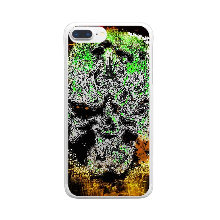 toy.the.monsters!のラビリンス 戒 Clear smartphone cases