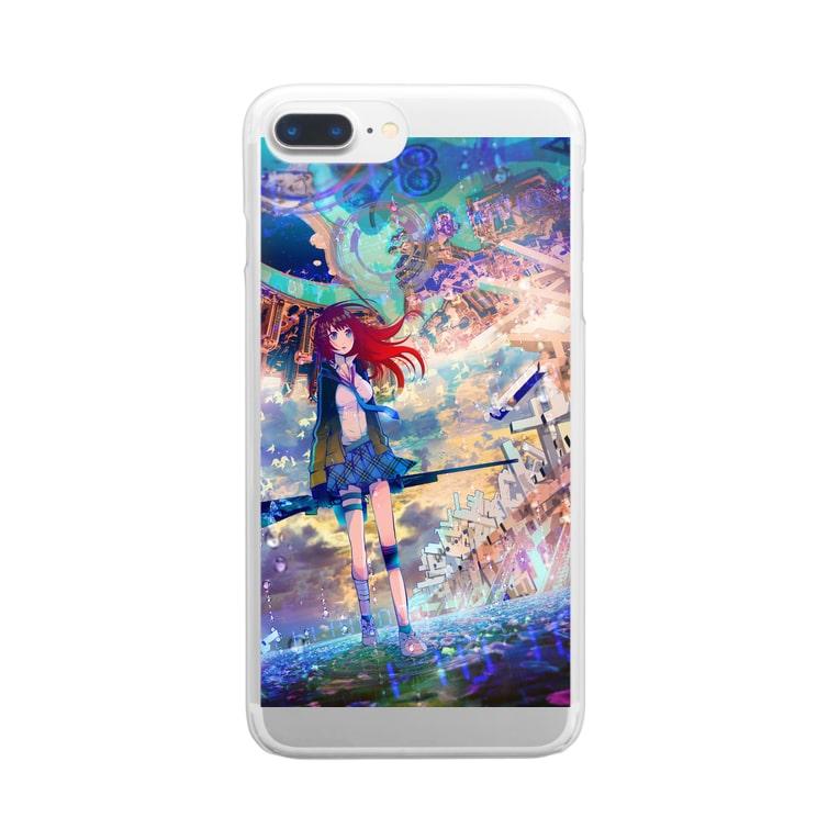岩村月子の綺麗なディストピア Clear smartphone cases