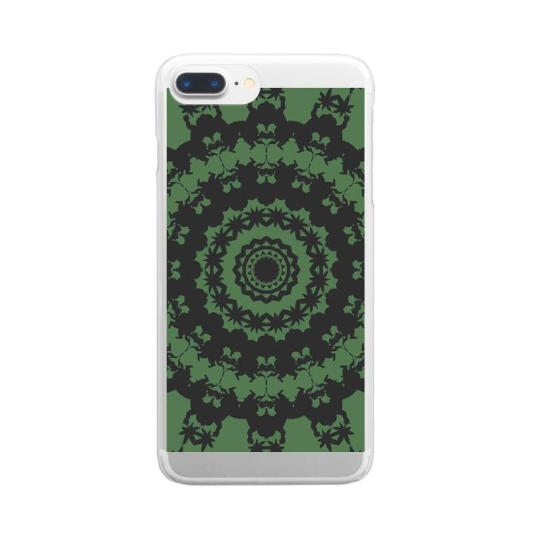 ❔のG Clear smartphone cases