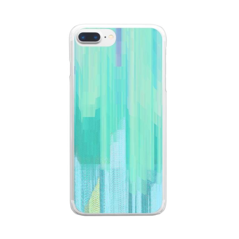 Inner Science / Plain MusicのQuiet Tracks Clear smartphone cases