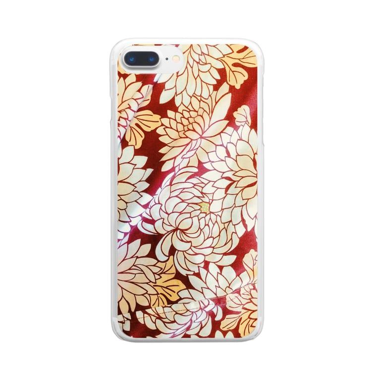 yutoyouのKIMONO Clear smartphone cases