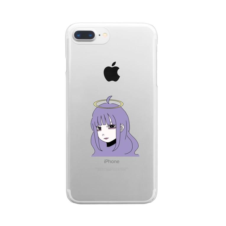 お好み@チヂミのあおいちゃん。 Clear Smartphone Case