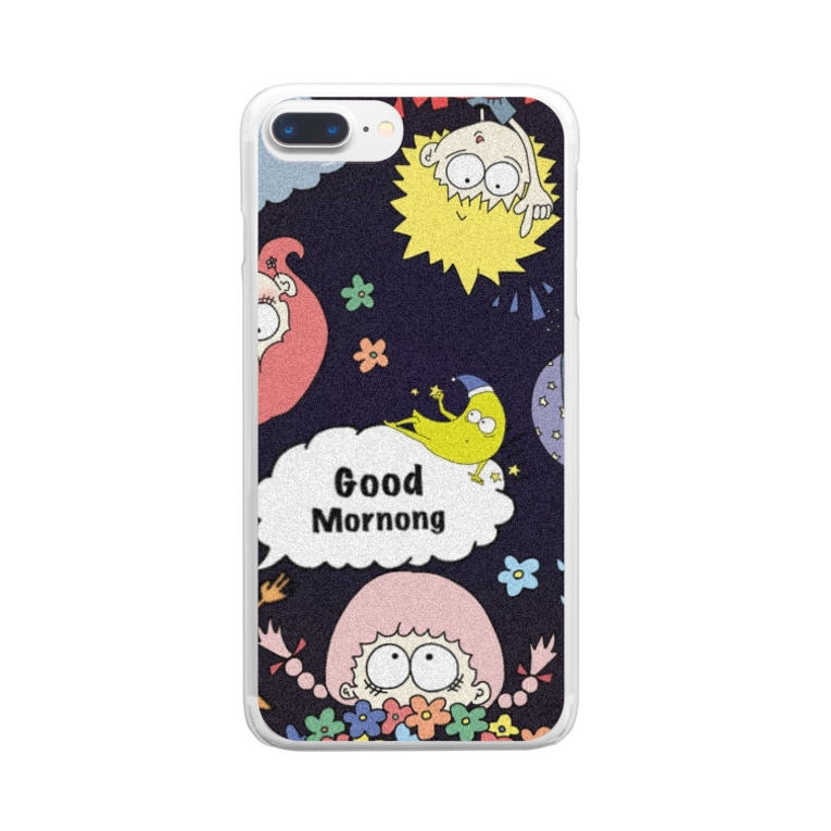 #morの#mor  Clear smartphone cases
