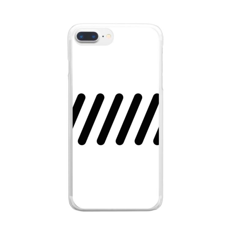 NA-JU232のライン Clear smartphone cases