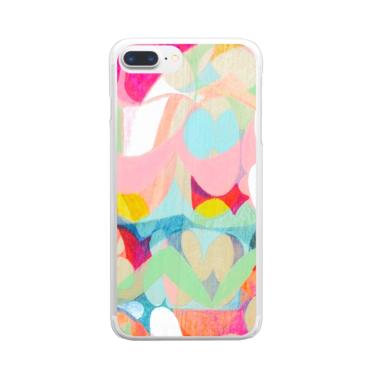 HARUTA_MISAKIのlayer Clear smartphone cases