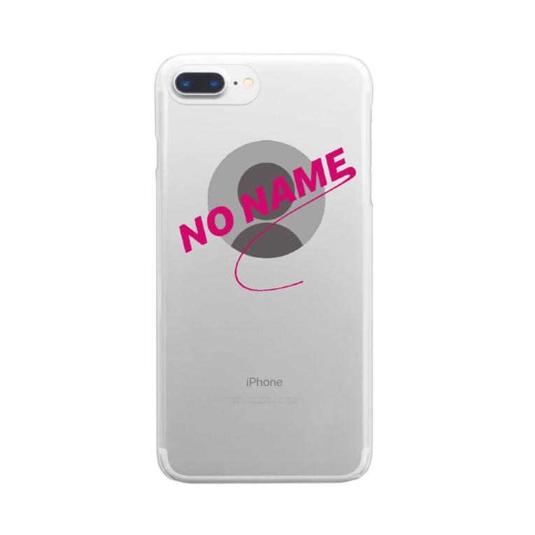 YASUiONiKUのNO NAME Clear smartphone cases
