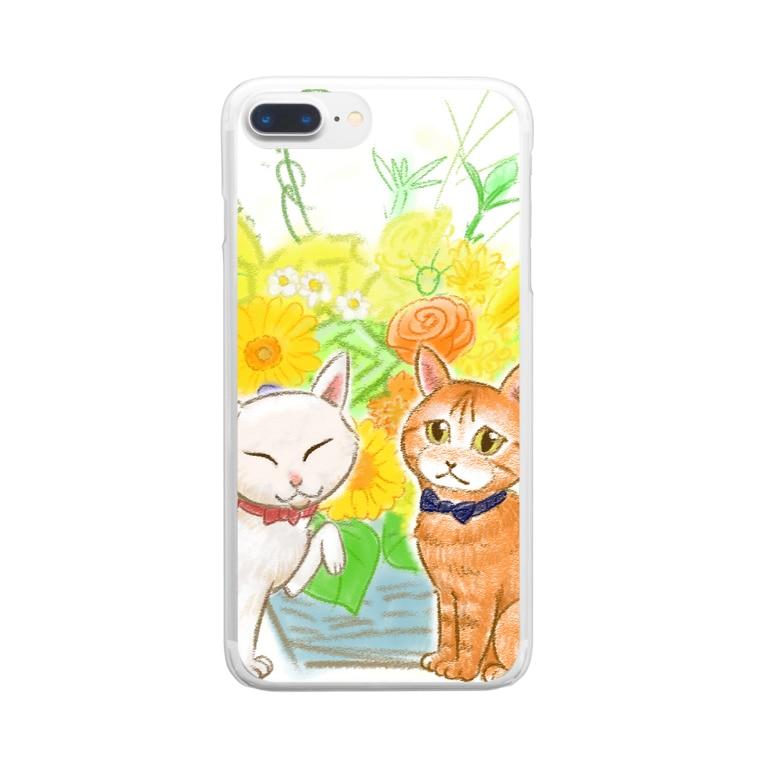 Jodlerin Sakura Kitagawa und die Edelweißmusikantenのちゃんでぃちゃんたち★ Clear smartphone cases