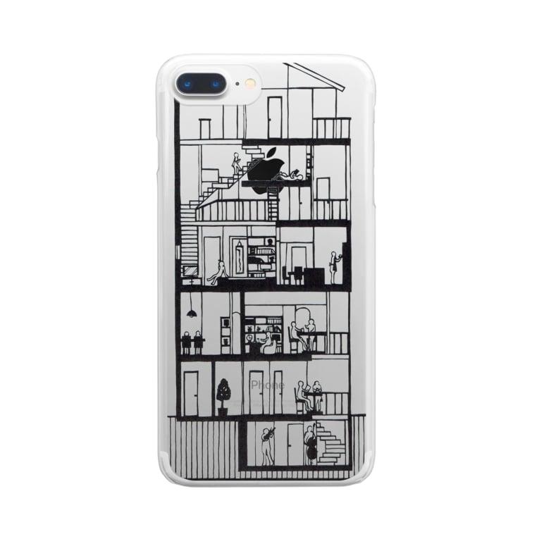 syo_31の日常の覗き見 Clear smartphone cases